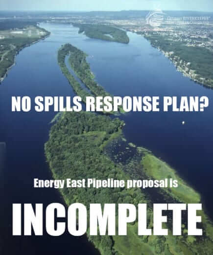 Energy east spill