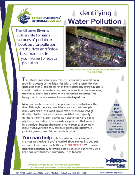 Identifying Water Pollution