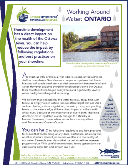 Working Around Water – Ontario
