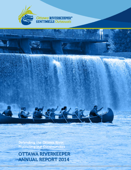 Ottawa-Riverkeeper-Annual-Report-2014