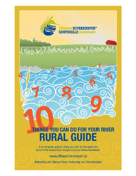 10 Things You Can Do For Your River (Rural Guide)