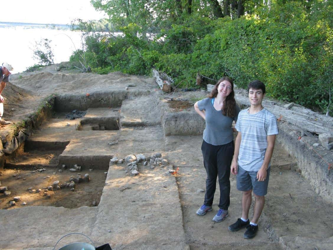 Digging into the past on the Ottawa River