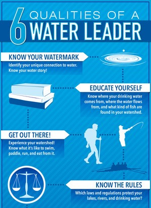 6 qualities of a water leader