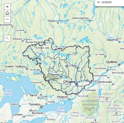 Map Gallery Ottawa Riverkeeper Garde Riviere Des Outaouais