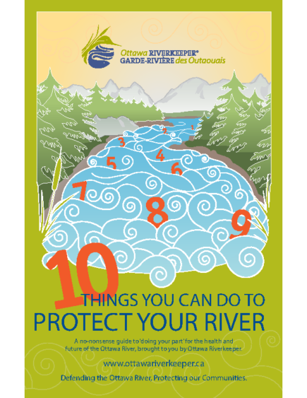 10 Things You Can Do For Your River (Urban Guide)
