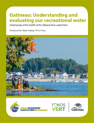 Gatineau: Understanding and evaluating our recreational water