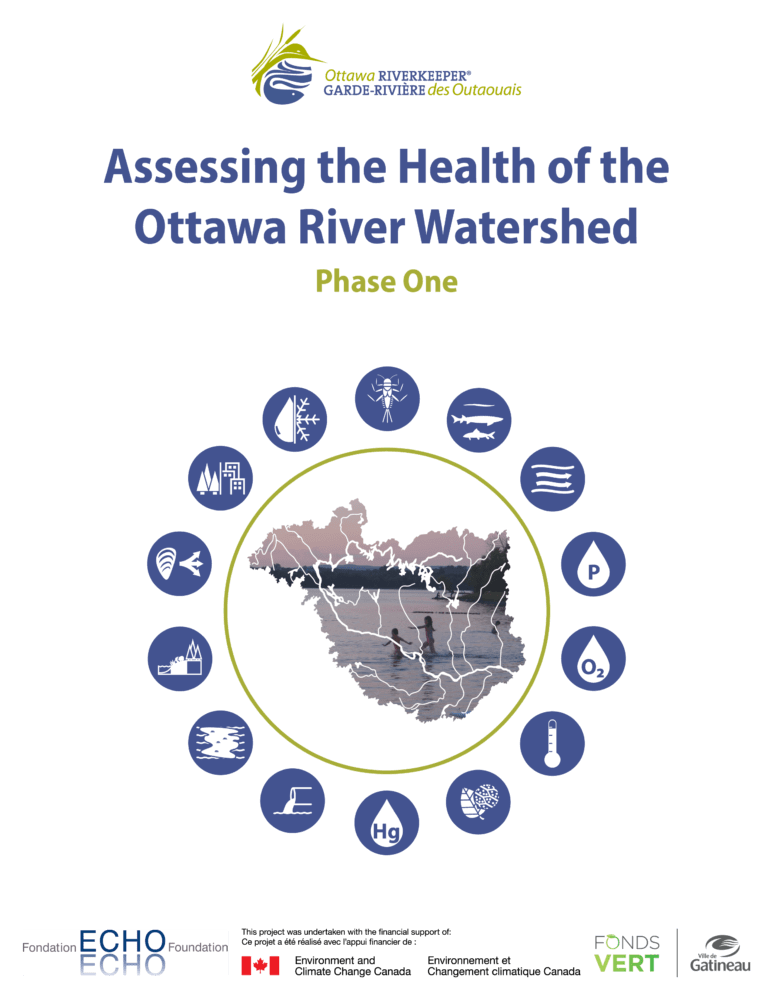 Assessing the Health of the Ottawa River Watershed: Phase One